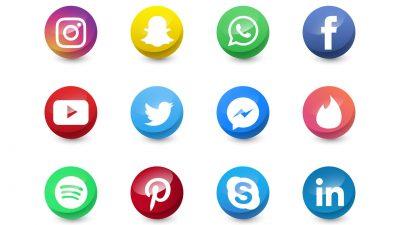 icons social media