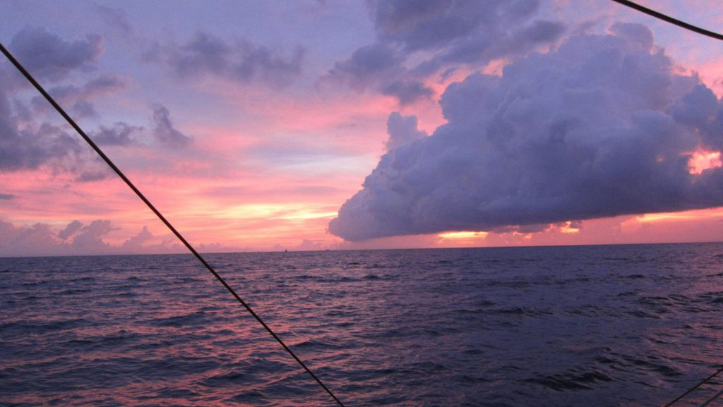 Sailing trip. Gili Travangan. Indonesia